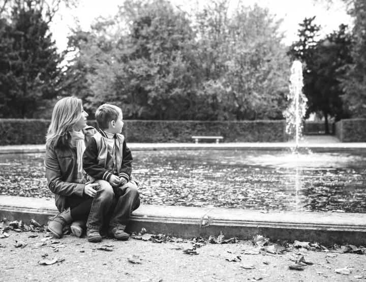 Séance famille avec Marion & Hugo au parc de Sceaux 92