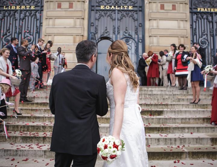 Mariage à l'Hôtel de France de Versailles