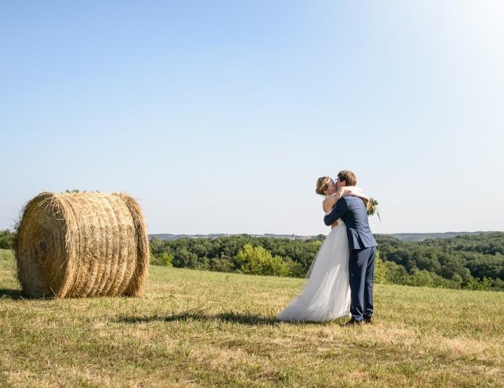 Mariage au Manoir de la Gabertie à Thézac