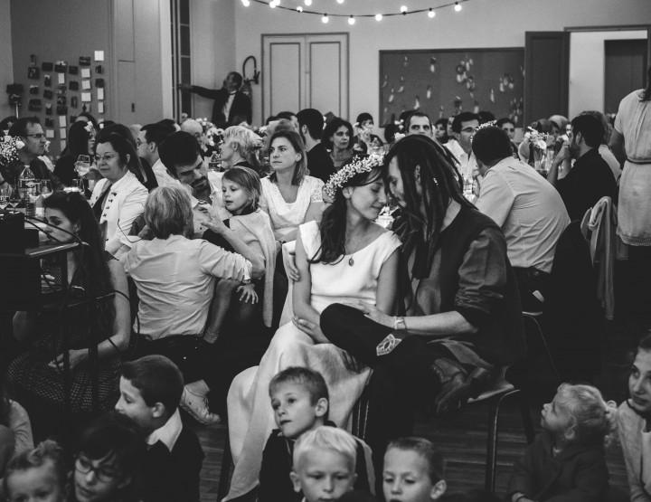 Mariage dans la salle communale de Sonchamps - Yvelines